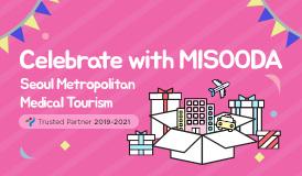 Celebrate with Misooda Seoul Metropolitan Medical Tourism Trusted Partner