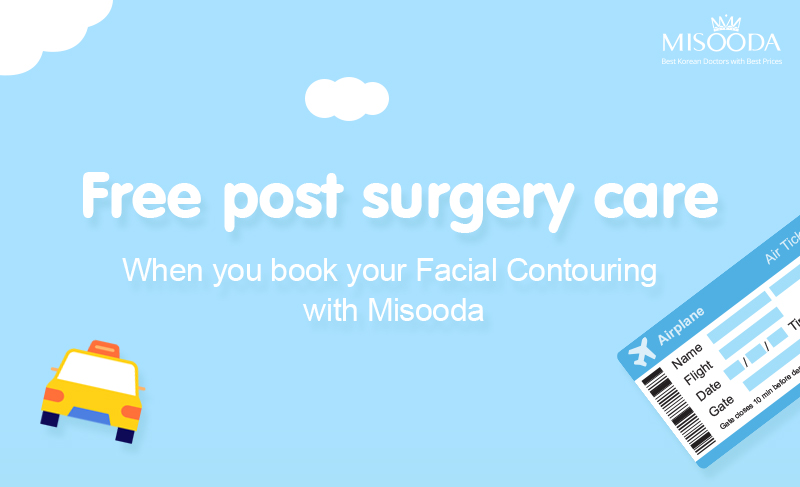 Free post surgery care when you book your Facial Contouring with MISOODA