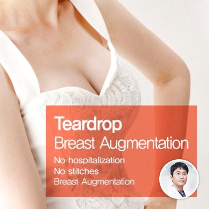 Teardrop Breast Augmentation