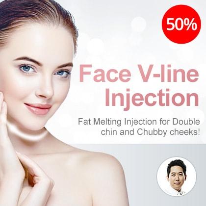 Face V-line Injection