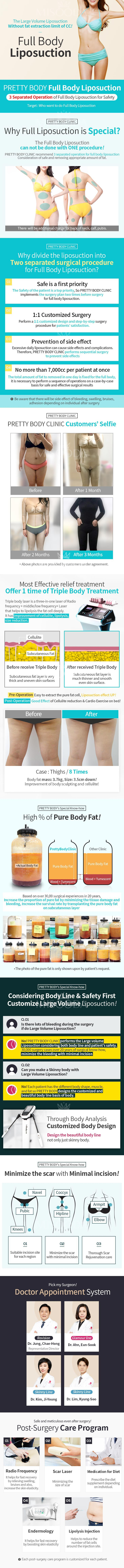 PRETTY BODY ClLINIC : Full Body Liposuction