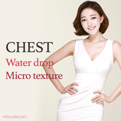 Chest Water drop and Micro texture