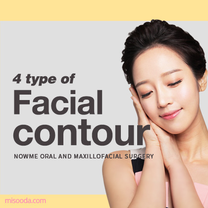 4 type of Facial contour