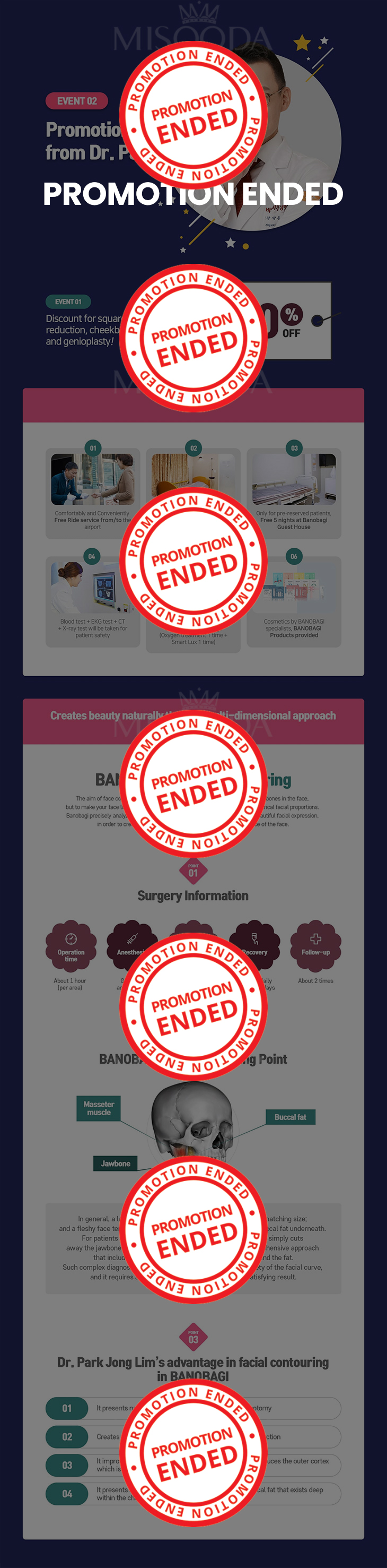 Square jaw reduction, cheekbone reduction and genioplasty