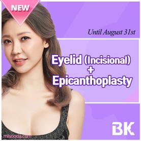 Eyelid (incisional) + Epicanthoplasty