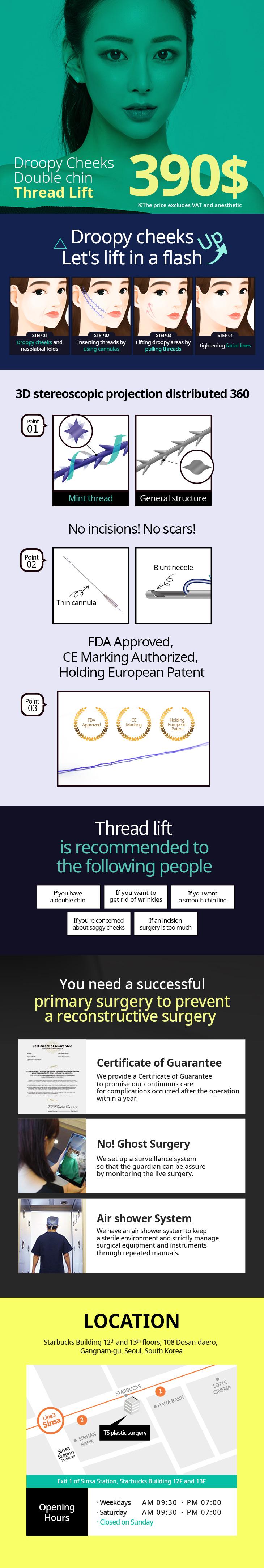 TS Mint Thread Lift