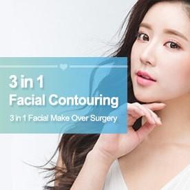 3 in 1 facial Contouring