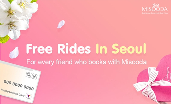 Free Rides in Seoul with every friend who books with MISOODA